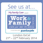 See Us At Button - Work and Family Show