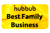 iHubbub Best Family Business Award Logo