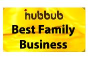 iHubbub Best Family Business Award Logo